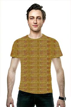 Embossed Gold Foil Pattern Jewel Fashion Couture G Gold Foil, Couture Fashion, Jewel, Tee Shirts, Pattern, Clothing, Mens Tops, Shopping, T Shirts