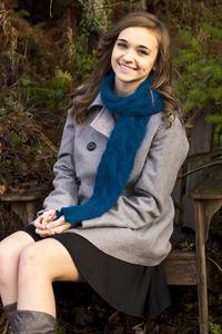 blue rondo scarf
