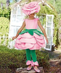 This Rose Dress - Toddler & Girls is perfect! #zulilyfinds