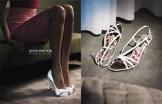 Here are some pictures from the Louis Vuitton Spring/Summer Women's Shoe Collection. Description from upscalehype.com. I searched for this on bing.com/images