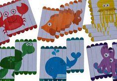 Dil çubukları ile eğitici oyuncak puzzle yapımı