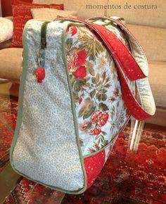 Momentos de Costura: Maxi bolso de viaje