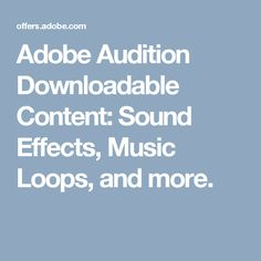 Sound Effects, Music Loops, and more. Animation Classes, Adobe Audition, Sound Effects, Indie Games, Sound Of Music, Game Dev, Content, Tips, Treats