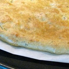 Almond Flour Pizza Dough