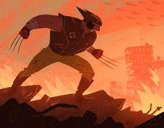 Wolverine Timelapse - Max Ulichney
