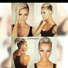 Whether your are looking for a classic or an extreme new haircut, look no more! You will find it in this gallery!