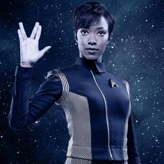 Star Trek: Discovery renewed for season two Star Trek Rpg, Star Trek Show, Star Wars, Star Trek Characters, Female Characters, Cyberpunk, Techno, Starfleet Academy, Fictional Heroes