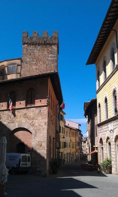 Poggibonsi, a town in the province of Siena, Tuscany