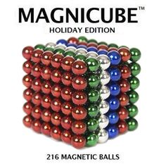 Magnicube Magnet Balls Holiday Edition