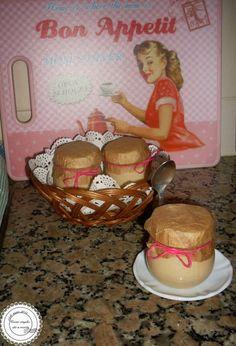 Coisas simples são a receita: Iogurte de caramelo