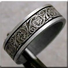 Master Craftsman, Defined! Handcrafted Celtic rings like no other! Amazing!