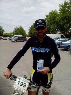 Cantelar Plus15protect nuestro ciclista del equipo Plus15BIke Gabriel López Azorin de  Yecla  ha quedado 1 posición de su categoría y 4 en la general de la BTT de Villena  por rotura de la cadena