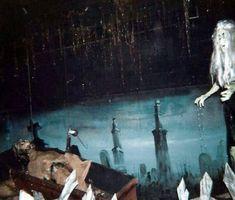 Haunted Attractions, Wax Museum, Dark, Classic, Painting, Painting Art, Paintings, Classical Music, Paint