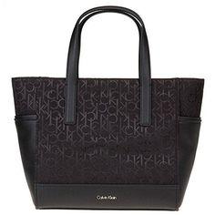Oferta: 109.9€. Comprar Ofertas de Calvin Klein - Bolso de tela para mujer negro negro Talla única barato. ¡Mira las ofertas!