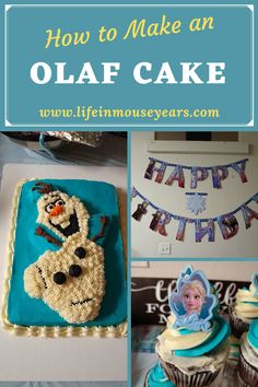 Frozen has been a popular movie and theme since it came out. Now with Frozen 2 being out for a while, it is a popular theme as well. Find out how I made an Olaf shaped cake for my niece. From recipes to supplies. This post has it all to help you out! Olaf Cake, Popular Movies, Disneyland Resort, Frozen, Things To Come, Shapes, Party, Recipes, Life
