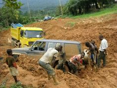 The road in Cameroon