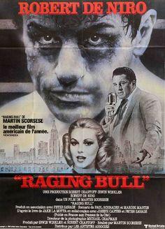 Raging Bull (1980) Original French Movie Poster