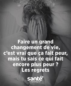 Les regrets jalonne une vie. Changer de vie est souvent une utopie.