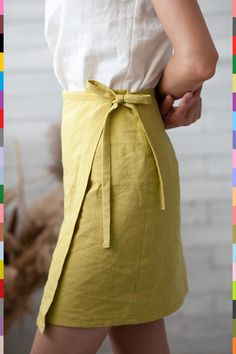 Linen Skirt, Linen Blouse, Linen Pants, Looks Vintage, Diy Clothes, Diy Fashion, Just For You, Pure Products, Baby Products