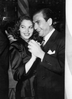 Ava Gardner and Artie Shaw.  Married just one year.