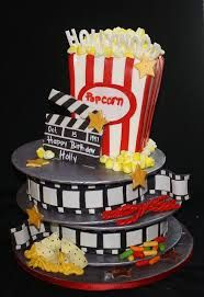how to make a film reel cake - Google Search