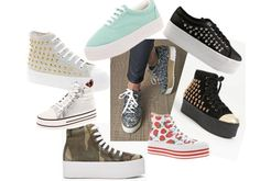 "Platform trainer: le scarpe ""zeppate"" tornano di moda!"