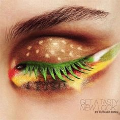 """""""Get a tasty new look""""  Burger King ad in The Netherlands"""