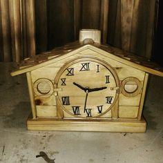 Farm house table clock