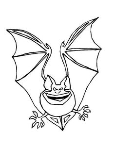 spooky bat coloring pages | Bats, : Bats Sleeping Coloring Page | Coloring 4 Kids ...