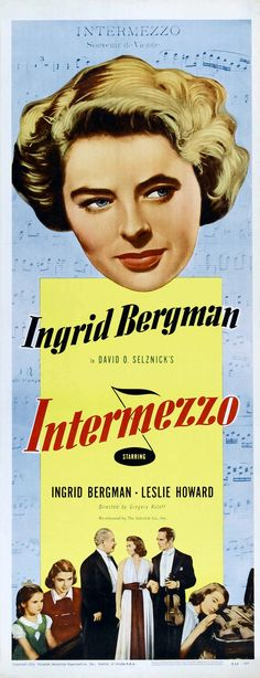 Intermezzo | Movie Poster, 1939