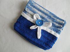 Carteiras em Crochet | Crochet Clutch | Maparim