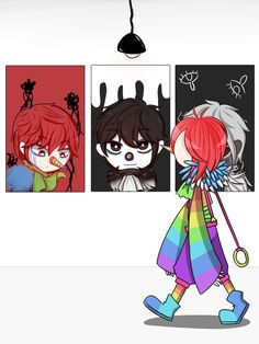 last 1)Rainbow Jack 2)Faded Jack 3)Laughing Jack