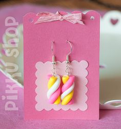 Marshmallow Earrings from Pikku Shop | www.pikku-shop.com