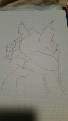 Stitch hug Angel