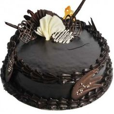Send Divine Chocolate Cake Online with same day delivery in Ahmedabad from SendGifts Ahmedabad. Order Divine Chocolate Cake online and express your best feeling to your Special Person. Double Chocolate Cake, Chocolate Truffle Cake, Divine Chocolate, Tasty Chocolate Cake, Dark Chocolate Cakes, Chocolate Truffles, Chocolate Dreams, Chocolate Sponge, Chocolate Icing
