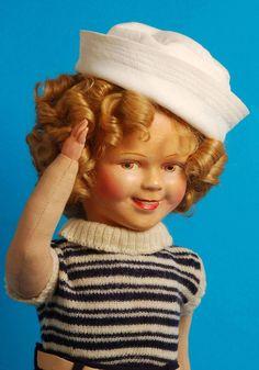 La poupee Shirley Temple