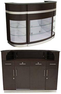 Reception Desk w/Granite Top