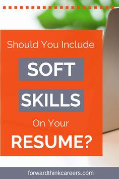 You may have heard that you need to include hard skills on your resume. But what about soft skills? Do they help your resume stand out and impress potential employers? Click to learn my answer to this common resume question! Resume Skills, Resume Tips, Online Job Applications, Financial Modeling, Finding A New Job, Career Exploration, Perfect Resume, Cover Letters, Team Player