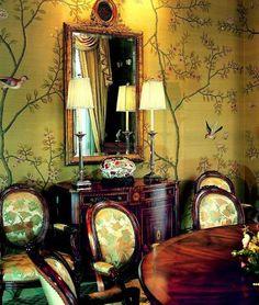 B. Mori  Co. creates silk wallcoverings in custom designs - SFGate
