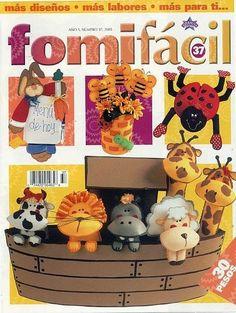 Revistas de manualidades gratis: Como hacer animalitos en foami