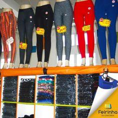Peça que não pode faltar é uma calça legging! Eu tenho várias e você?   #legging #calças #feirinhadaconcórdia