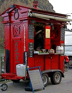 Wherever this is, I want to go!! ☕ Police box coffee stop ☕