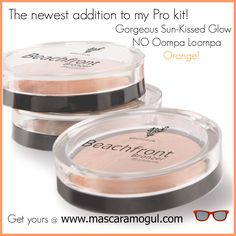 Beautiful Bronzer a must try. Get rid of the the orange!