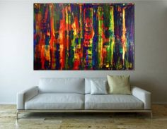 "Saatchi Art Artist Nestor Toro; Painting, ""Flare Spectra by Nestor Toro"" #art"