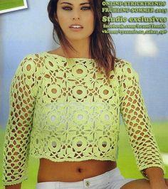 Crochetemoda: Fevereiro 2015