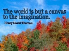 Quote about imagination Henry David Thoreau