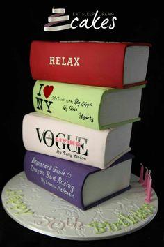 Big books cake