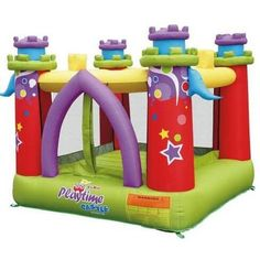 Playtime Castle Bounce House #bouncehouse #kidwise #inflatables