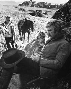 Paul Newman and Robert Redford - Butch Cassidy and the Sundance Kid (1969)
