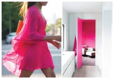 Fluo: fashion x decor #fluo #neon #pink